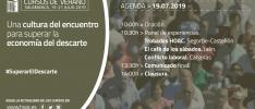 Cursos de verano | Agenda del día 19.07.2019
