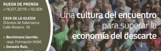 Convocatoria de rueda de prensa. Cursos de verano #SuperarElDescarte