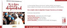 Zaragoza | Conversación pública sobre el libro «No os dejéis robar la dignidad»