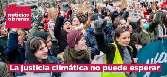 La justicia climática no puede esperar