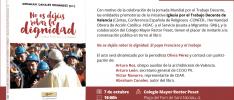 Valencia | Conversación en torno al libro «No os dejéis robar la dignidad»