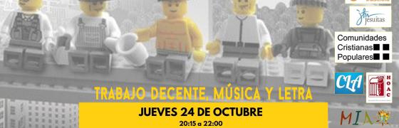 Alicante | Trabajo decente, música y letra