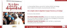 Málaga | Se presenta un libro sobre el papa Francisco y el trabajo