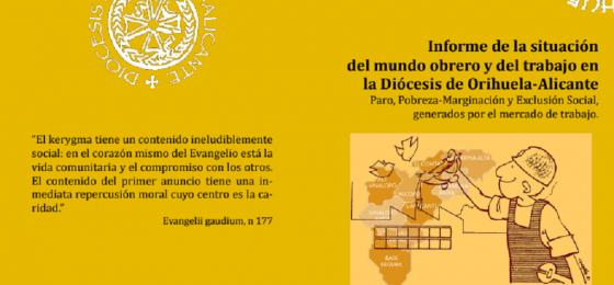 Orihuela-Alicante   Informe de la Pastoral Obrera sobre la situación del trabajo