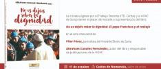 Soria | Presentación del libro No os dejéis robar la dignidad