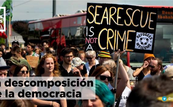 La descomposición  de la democracia