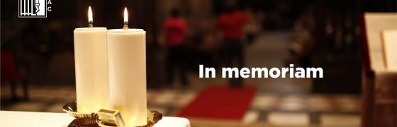 In memoriam | Hay personas eternas