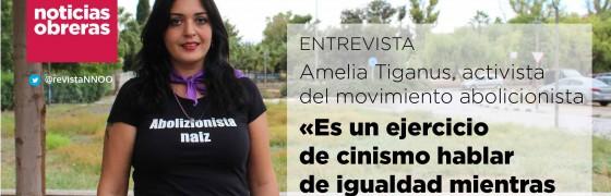 Amelia Tiganus: «Es un ejercicio de cinismo hablar de igualdad mientras exista la prostitución»