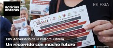 XXV aniversario de la Pastoral Obrera. Un recorrido con mucho futuro