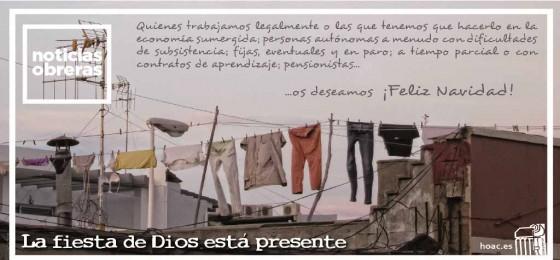 Navidad, la gran fiesta de Dios con nosotros