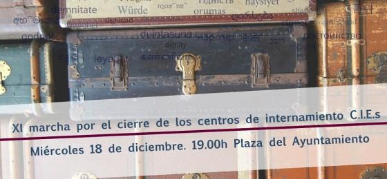 Valencia   La HOAC participa en la XI marcha por el cierre de los CIE