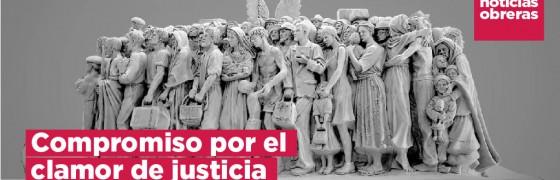 Noticias Obreras | Compromiso por el clamor de justicia #EnSalida