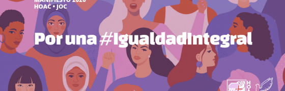 #8M | Trabajadores y trabajadoras cristianas reclaman cambios para alcanzar la #IgualdadIntegral