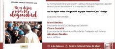 Vall d'Uixó | La HOAC presenta un libro sobre el papa Francisco y el trabajo