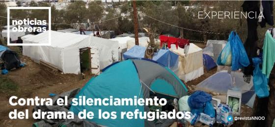 Contra el silenciamiento del drama de los refugiados