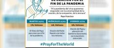 COVID-19 | Convocados a unirse en oración desde el Vaticano