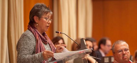 La militante de la HOAC Carmen León, premiada por su lucha por la Igualdad