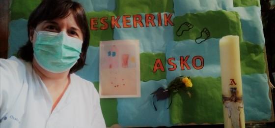 Bilbao | Acompañando a los pacientes del hospital Santa Marina