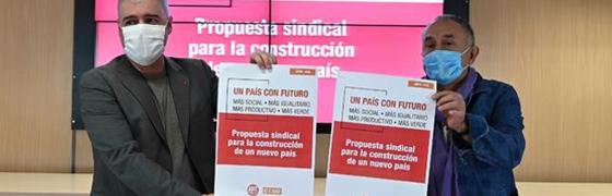 Propuesta sindical para la reconstrucción: un modelo productivo, laboral y social sostenible