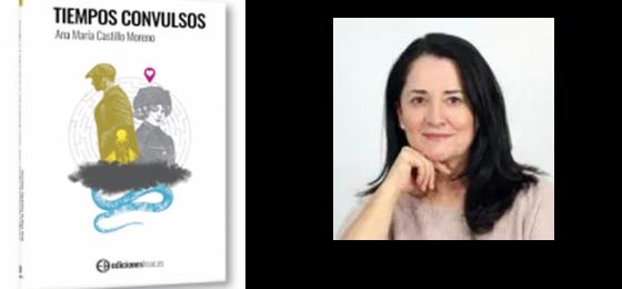 """La autora de """"Tiempos convulsos"""", Ana María Castillo, entrevistada en varios medios"""