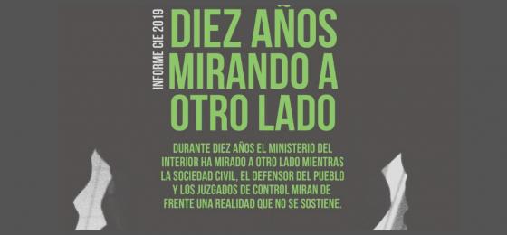 """Presentan el informe sobre los CIE """"Diez años mirando a otro lado"""""""