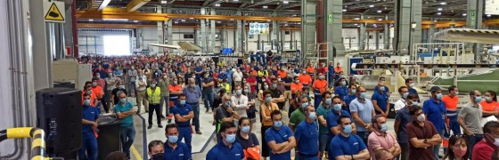 La HOAC de Sevilla, Getafe y Cádiz se solidarizan con la plantilla de Airbus y reclaman el mantenimiento del empleo