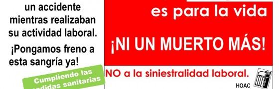 Burgos   Concentración de solidaridad con las víctimas de accidentes de trabajo