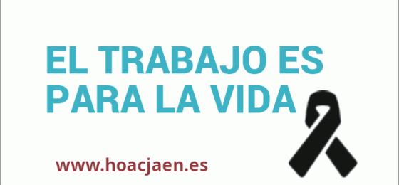 Jaén | HOAC y Pastoral Obrera asisten al funeral de un trabajador fallecido en accidente laboral