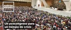 Un poscongreso para un tiempo de crisis