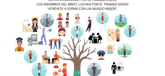 #7Oct | Mensaje del Movimiento Mundial de Trabajadores Cristianos con ocasión de la Jornada Mundial por el Trabajo Decente