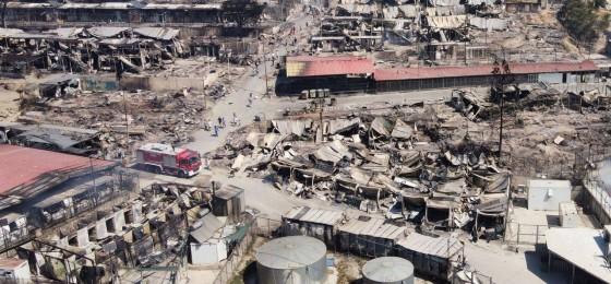 Opinión   ¿Por qué ha ardido el campo de refugiados de Moria?