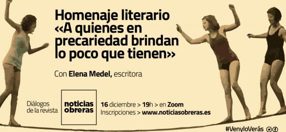 Diálogos #VenyloVerás: Homenaje literario «A quienes en precariedad brindan lo poco que tiene»