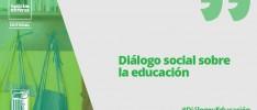 Diálogo social sobre la educación