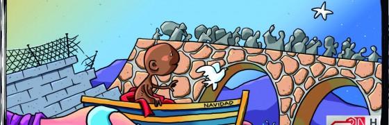 Un niño nos ha nacido, para tender puentes, derribar muros, y sembrar reconciliación