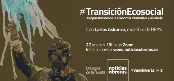 Diálogos #VenyloVerás: Propuestas para una #TransiciónEcosocial