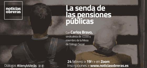 Diálogo #VenyloVerás: La senda de las pensiones públicas