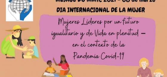 #8M2021 Mensaje del Movimiento Mundial de Trabajadores Cristianos