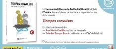 Córdoba | Presentación de la novela Tiempos convulsos