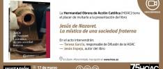 Presentación del libro «Jesús de Nazaret. La mística de una sociedad fraterna», de Jesús Espeja