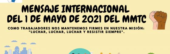 #1M2021 | Mensaje del Movimiento Mundial de Trabajadores Cristianos