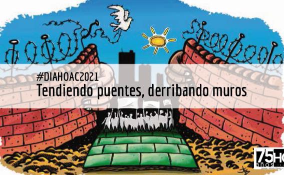 """Presentación del Día de la HOAC 2021: """"Tendiendo puentes, derribando muros"""""""