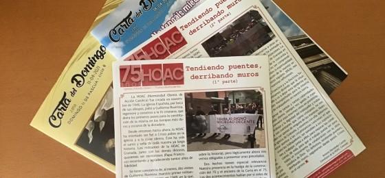 Granada | La historia de la HOAC en la Carta del Domingo