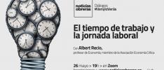 Diálogo #VenyloVerás: Tiempo de trabajo y jornada laboral