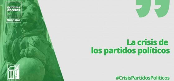 La crisis de los partidos políticos