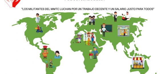 #7OCT21 | Mensaje del Movimiento Mundial de Trabajadores Cristianos para la Jornada Mundial por el Trabajo Decente