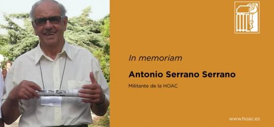 In memoriam | Antonio Serrano