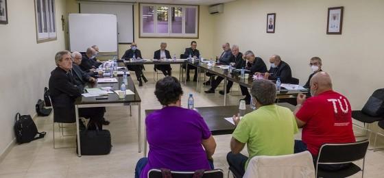 Barcelona | Encuentro con la Conferencia Episcopal Tarraconense