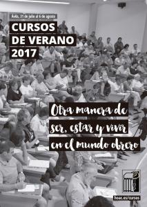 <b>CURSO DE VERANO 2017</b>